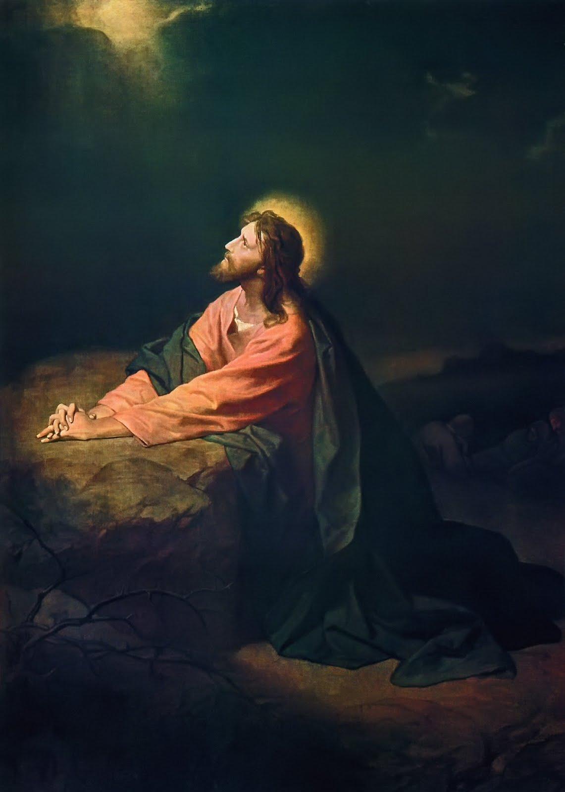 by LDS high schoolers  Jesus Praying In Gethsemane Lds