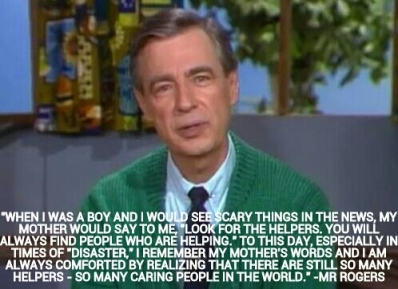 Mister Rogers on Helpers